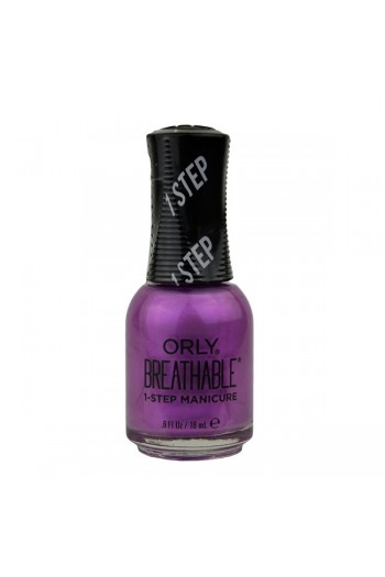 ORLY Breathable Lacquer - Treatment+Color - Super Bloom Collection - Orchid You Not - 0.6oz / 18ml