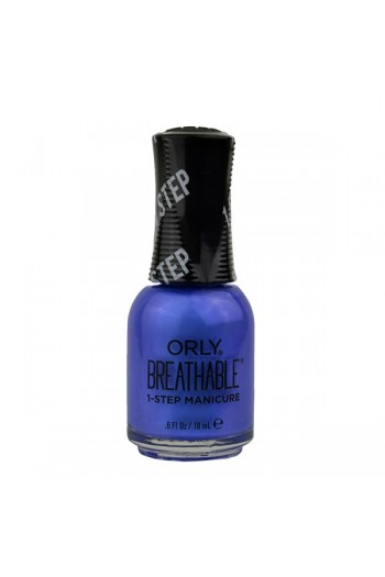 ORLY Breathable Lacquer - Treatment+Color - Super Bloom Collection - You Had Me At Hydrangea - 0.6oz / 18ml