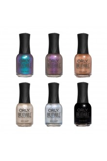 ORLY Breathable Lacquer - Treatment+Color - Cosmic Bliss Collection - All 6 Colors - 0.6oz / 18ml Each