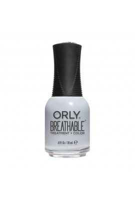 ORLY Breathable Lacquer - Treatment+Color - Dusk To Dawn 2019 Collection - Marine Layer - 0.6oz / 18ml