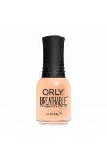 ORLY Breathable Lacquer - Treatment+Color - State of Mind Collection - Peaches And Dreams - 0.6oz / 18ml