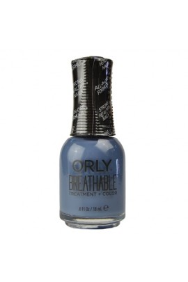 Orly Breathable Nail Lacquer - Treatment + Color - De-stressed Denim - 0.6oz / 18ml