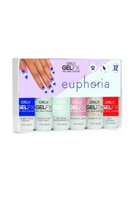 Orly Gel FX - Euphoria 2019 Collection - All 6 Colors - 0.3oz / 9ml each