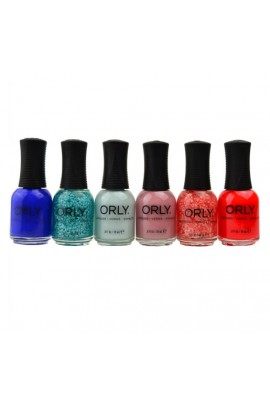 Orly Nail Lacquer - Euphoria 2019 Collection - All 6 Colors  - 18 mL / 0.6 oz Each