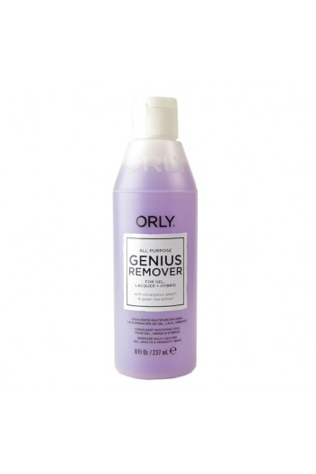 Orly - All Purpose Genius Remover - Gel Remover - 8oz / 237ml