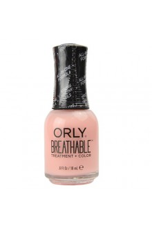 Orly Breathable Nail Lacquer - Treatment + Color - Kiss Me, I'm Kind - 0.6oz / 18ml