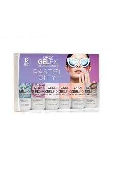 Orly Gel FX Gel Polish - Pastel City 2018 Collection - 6pc Set - 0.3oz / 9ml Each