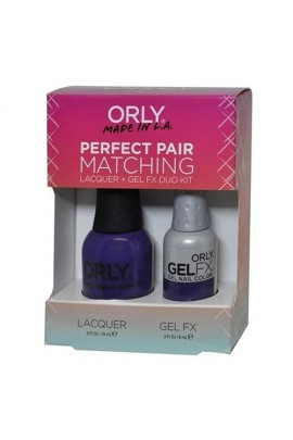 Orly Lacquer + Gel FX - Perfect Pair Matching DUO Kit - Charged Up