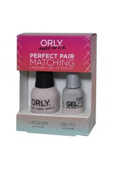 Orly Lacquer + Gel FX - Perfect Pair Matching DUO Kit - Kiss The Bride