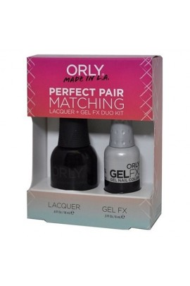 Orly Lacquer + Gel FX - Perfect Pair Matching DUO Kit - Liquid Vinyl