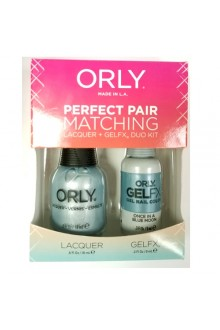 Orly Lacquer + Gel FX - Perfect Pair Matching DUO Kit - Once In A Blue Moon