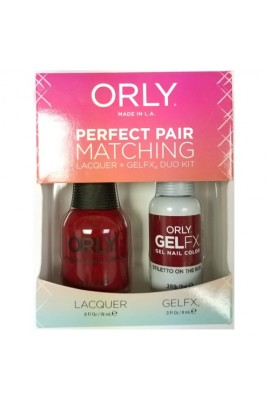 Orly Lacquer + Gel FX - Perfect Pair Matching DUO Kit - Penny Leather