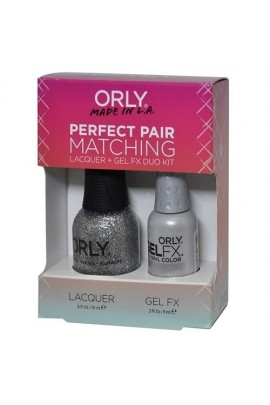 Orly Lacquer + Gel FX - Perfect Pair Matching DUO Kit - Tiara
