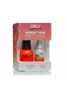 Orly Lacquer + Gel FX - Perfect Pair Matching DUO Kit - Ablaze