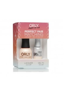 Orly Lacquer + Gel FX - Perfect Pair Matching DUO Kit - First Kiss