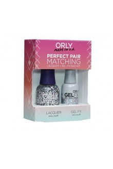 Orly Lacquer + Gel FX - Perfect Pair Matching DUO Kit - Holy Holo!