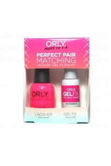 Orly Lacquer + Gel FX - Perfect Pair Matching DUO Kit - No Regrets