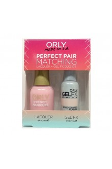 Orly Lacquer + Gel FX - Perfect Pair Matching DUO Kit - Rose-Colored Glasses