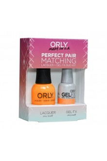 Orly Lacquer + Gel FX - Perfect Pair Matching DUO Kit - Tropical Pop