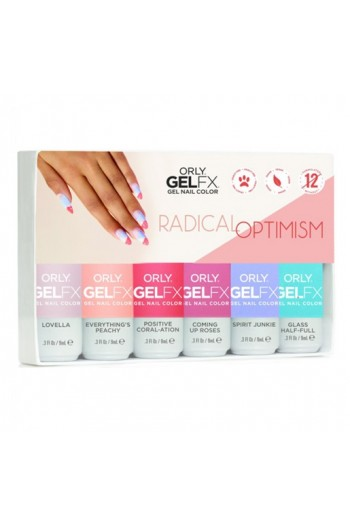 Orly Gel FX - Radical Optimism 2019 Collection - All 6 Colors - 0.3oz / 9ml each