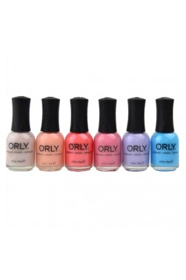 Orly Nail Lacquer - Radical Optimism 2019 Collection - All 6 Colors  - 18 mL / 0.6 oz Each