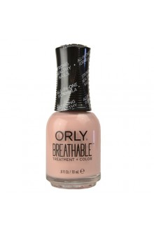 Orly Breathable Nail Lacquer - Treatment + Color - Sheer Luck - 0.6oz / 18ml
