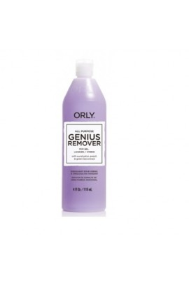 Orly - All Purpose Genuis Remover- Gel Remover - 4oz / 118ml