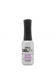 Orly Gel FX - Matte Top Coat - 0.3oz / 9mL