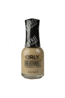 Orly Breathable Nail Lacquer - Treatment + Color - Bare Necessity - 0.6 oz / 18 mL