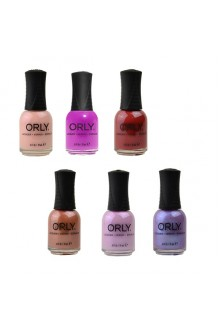 ORLY Nail Lacquer - Feel The Beat Collection - All 6 Colors - 0.6oz / 18ml