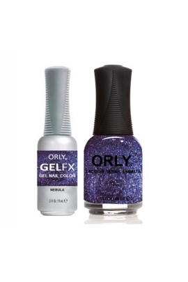 Orly - Perfect Pair Matching Lacquer + Gel FX - Nebula - 0.6 oz / 0.3 oz
