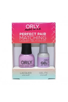 Orly - Perfect Pair Matching Lacquer+Gel FX Kit - As Seen on TV   - 0.6 oz / 0.3 oz