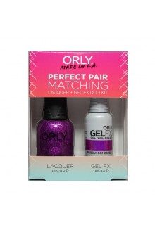 Orly - Perfect Pair Matching Lacquer+Gel FX Kit - Bubbly Bombshell - 0.6 oz / 0.3 oz