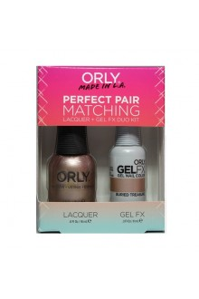 Orly - Perfect Pair Matching Lacquer+Gel FX Kit - Buried Treasure - 0.6 oz / 0.3 oz