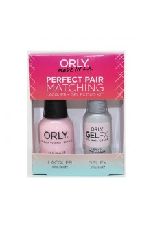 Orly - Perfect Pair Matching Lacquer+Gel FX Kit - Head In The Clouds  - 0.6 oz / 0.3 oz