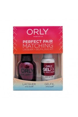 Orly - Perfect Pair Matching Lacquer+Gel FX Kit - Just Bitten - 0.6 oz / 0.3 oz