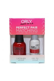Orly - Perfect Pair Matching Lacquer+Gel FX Kit - Ma Cherie - 0.6 oz / 0.3 oz