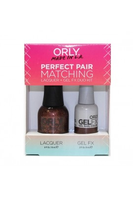 Orly - Perfect Pair Matching Lacquer+Gel FX Kit - Meet Me At Mulholland - 0.6 oz / 0.3 oz