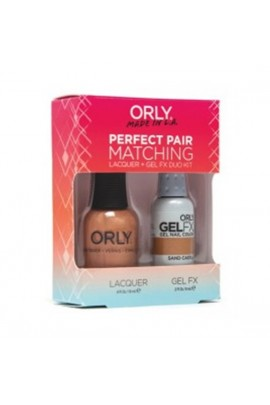 Orly - Perfect Pair Matching Lacquer+Gel FX Kit - Sand Castle - 0.6 oz / 0.3 oz