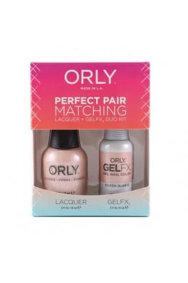Orly - Perfect Pair Matching Lacquer+Gel FX Kit - Silken Quartz - 0.6 oz / 0.3 oz