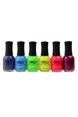 ORLY Nail Lacquer - Retrowave Collection - All 6 Colors - 0.6oz / 18ml
