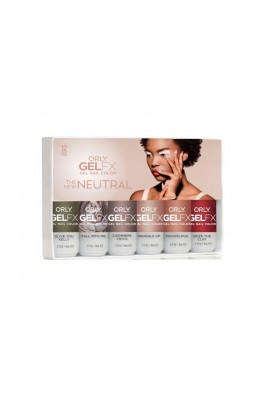 Orly Gel FX - The New Neutral Collection - All 6 Colors - 0.3Fl oz / 9 ml each