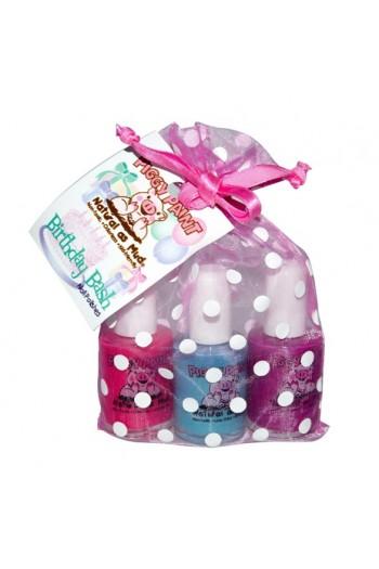 Piggy Paint - Birthday Bash Gift Set - 3 Nail Polish Set - 0.5oz/15ml each