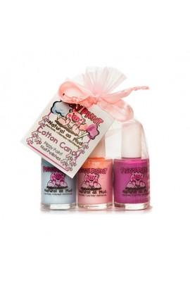 Piggy Paint - Cotton Candy Gift Set - 3 Nail Polish Set - 0.5oz/15ml each
