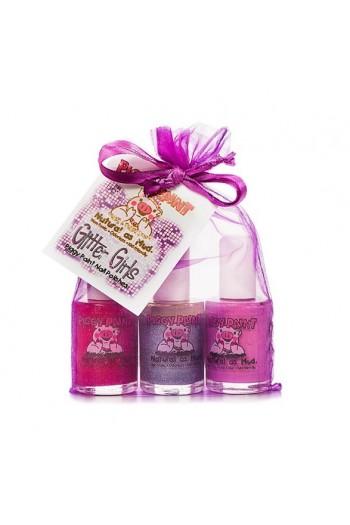 Piggy Paint - Glitter Girls Gift Set - 3 Nail Polish Set - 0.5oz/15ml each