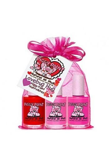 Piggy Paint - Lovebug Hug Gift Set - 3 Nail Polish Set - 0.5oz/15ml each