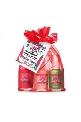 Piggy Paint - Mistle Toes Gift Set - 3 Nail Polish Set - 0.5oz/15 ml each