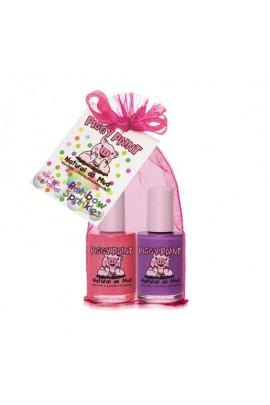 Piggy Paint - Rainbow Sprinkles Gift Set - 2 Nail Polish Set - 0.5oz/15ml each
