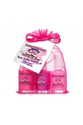 Piggy Paint - Toe-Tally Fancy Gift Pack - 3 Nail Polish Set - 0.5oz/15ml each