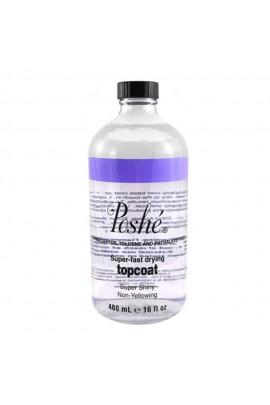 Poshe - Super-Fast Drying Top Coat - 16oz / 480ml